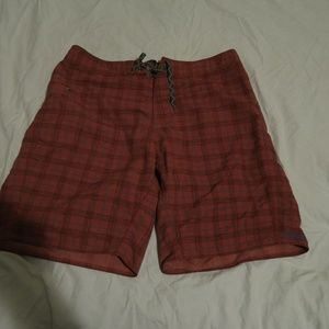Patagonia Stretch Wavefarer Striped Boardshorts 36